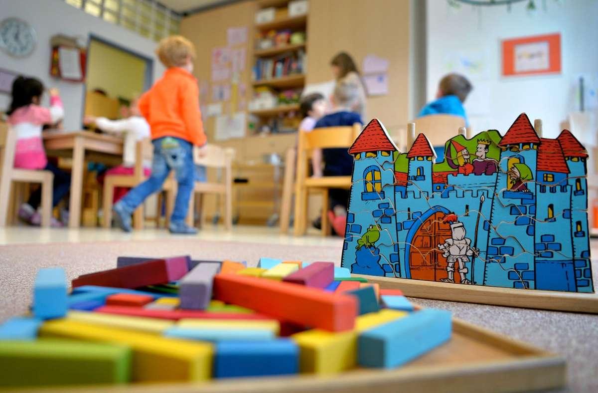 Das ältere Kind von Herrn T. hat jetzt einen Kindergartenplatz. Foto: dpa