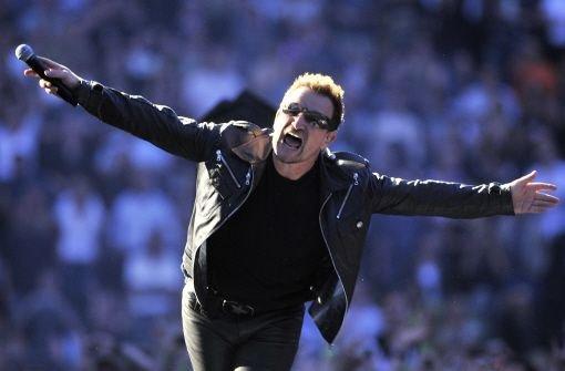 Bono sagt Entschuldigung
