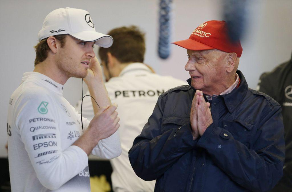 Niki Lauda hat auch großen Anteil an der Erfolgsgeschichte von Mercedes. Foto: AP