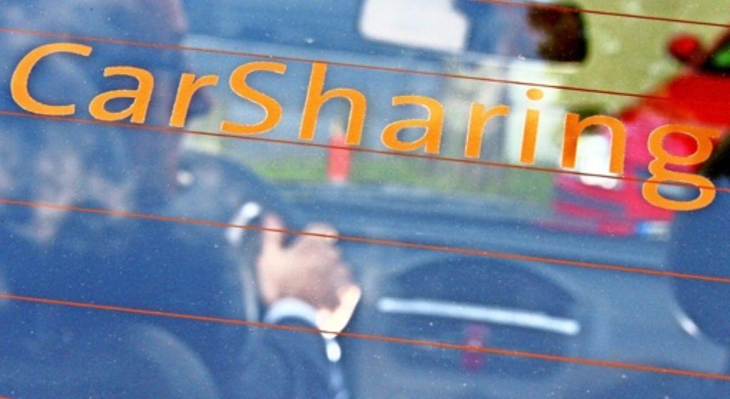 Das Carsharing liegt  in deutschen Großstädten im Trend. Auch in Stuttgart sprechen Experten von einem Boom. Doch die einzelnen Bezirke unterscheiden sich bei der Nachfrage nach Carsharing-Angeboten deutlich. Foto: dpa