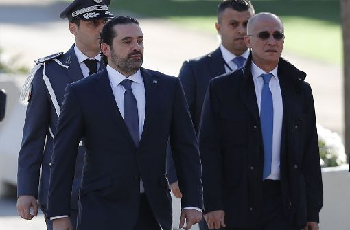 Hariri macht einen Rückzieher vom Rücktritt