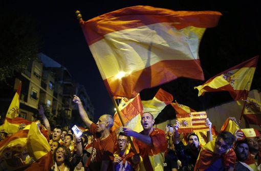 Fortschritte im Spanien-Konflikt