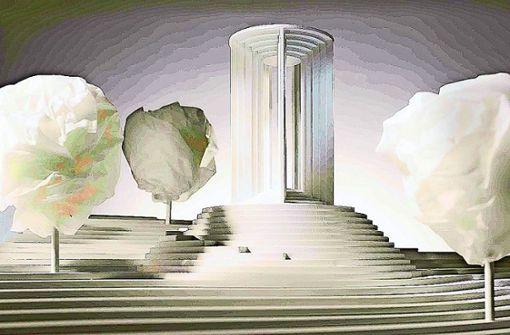 Säulenbau steht auf der Kippe