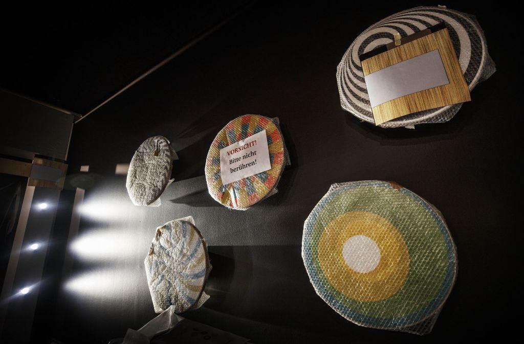 Die meisten Exponate der Forscherfabrik Schorndorf sind noch gut verpackt und dürfen nicht berührt werden. Nach der Eröffnung ist Anfassen ausdrücklich erwünscht. Foto: Gottfried Stoppel