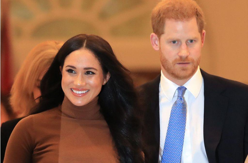 Die Pläne von Harry und Meghan entsetzen das Königshaus. Foto: dpa/Aaron Chown