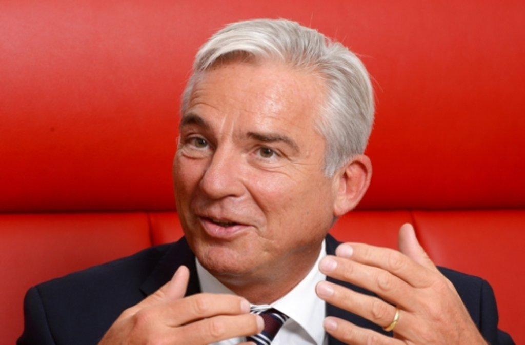 CDU-Landeschef Thomas Strobl will beim Thema G8/G9 an Südwest-Gymnasien die Schüler entscheiden lassen. Foto: dpa