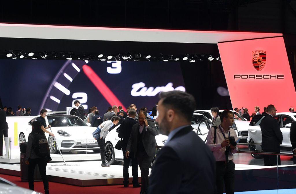 Von AMG bis Porsche (im Bild) – die Höhepunkte des Genfer Autosalons zeigt unsere Bildergalerie. Foto: dpa