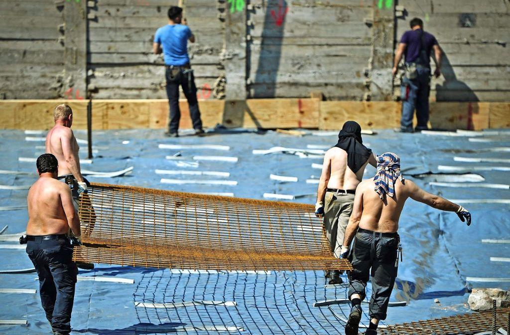 In Spanien hat Herr Z. auf Baustellen gearbeitet. Foto: dpa