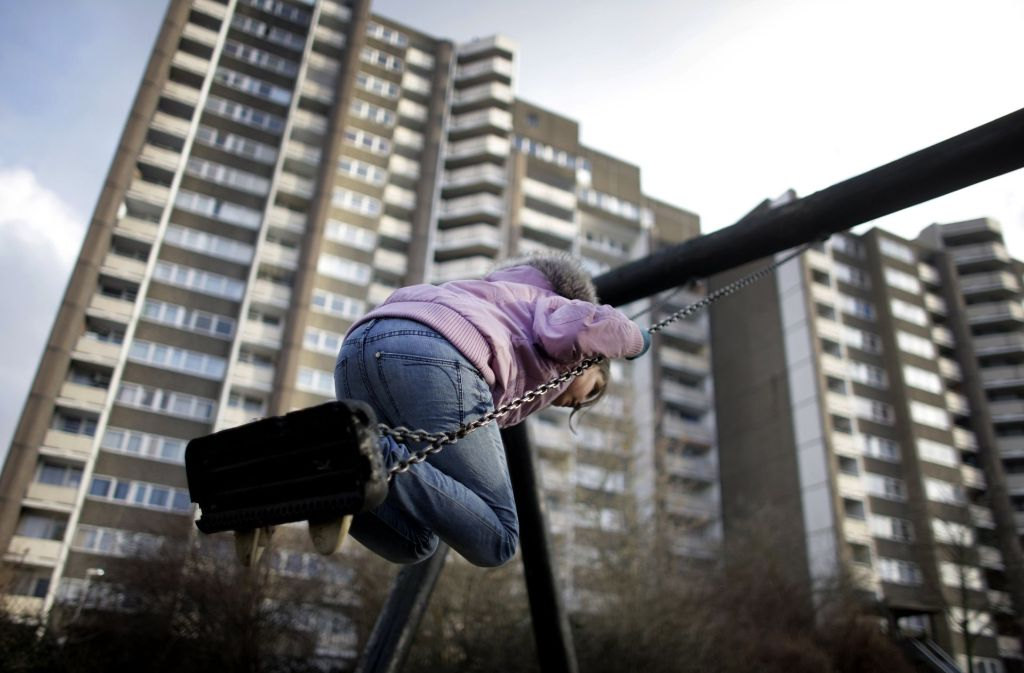 Kinder leiden am stärksten unter Bedürftigkeit. Foto: dpa