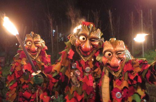 Die Fellbacher Weingeister  sind aufgewacht