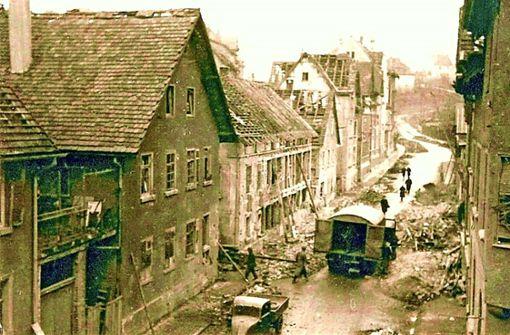 Vor 75 Jahren: Bomben auf Untertürkheim