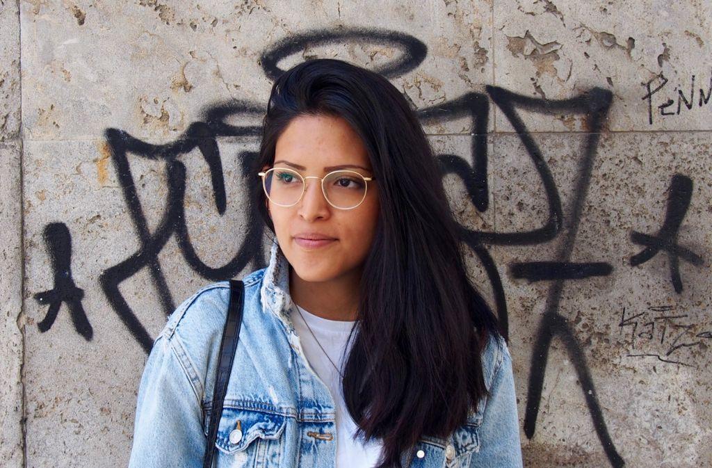 Diesmal im Stadtkind-Stylecheck: Mode-Mädchen Karla Cruzado. Foto: Tanja Simoncev