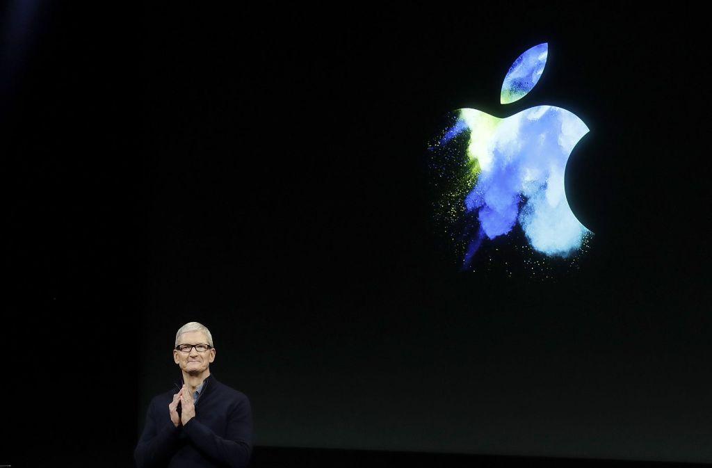 Apple-Chef Tim Cook wird am Dienstag das neue iPhone vorstellen. Foto: AP