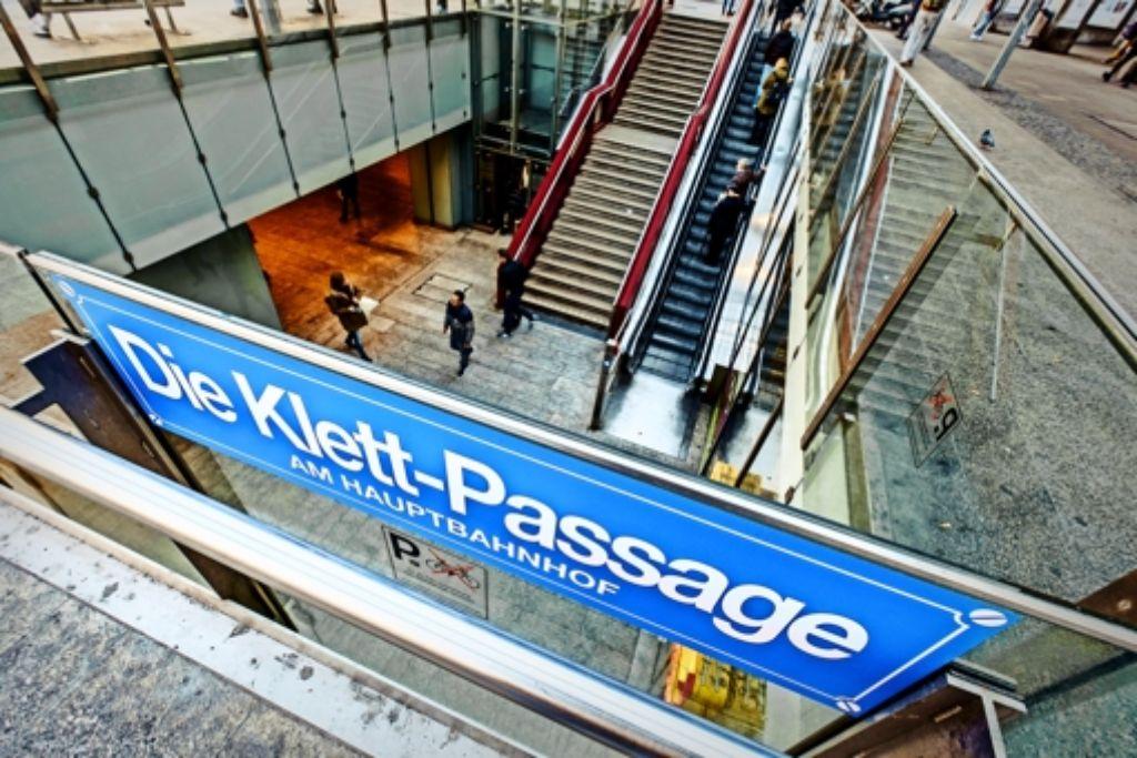 Der Ruf der Klett-Passage unter dem Hauptbahnhof hat gelitten. Foto: Lichtgut/Leif Piechowski