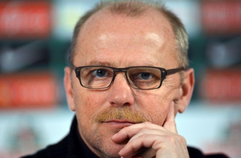 Thomas Schaaf wechselt zur Frankfurter Eintracht. Foto: dpa