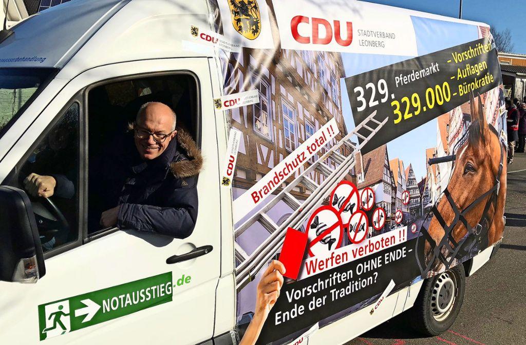 Die CDU beklagt zu viele Vorschriften und Auflagen für den Pferdemarkt. Foto: ulo