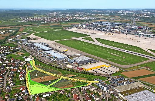 Neue Firma im Airport-Areal