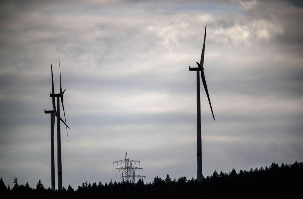 Der Windpark zwischen Winterbach und Schorndorf war schon von Beginn an umstritten. Foto: Gottfried Stoppel