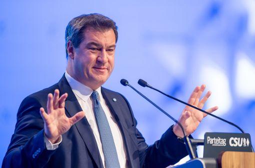 Markus Söder für Klimaschutz im Grundgesetz