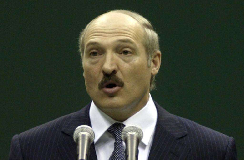 Esslingen  kritisiert den weißrussischen Diktator Alexander Lukaschenko. Foto: eastway