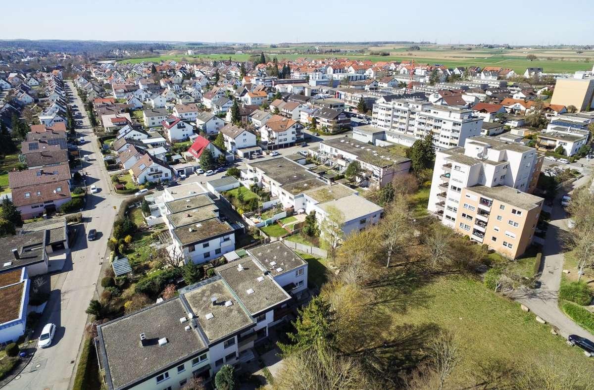 Die Böblinger Verwaltung nimmt sich den Sorgen und Nöten in Dagesheim-Ost an. Foto: Kreiszeitung Böblinger Bote/Thomas Bischof