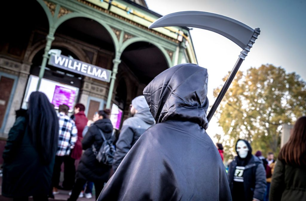 Auch die  Wilhelma ist an Halloween schaurig schön. Foto: Lichtgut/Julian Rettig