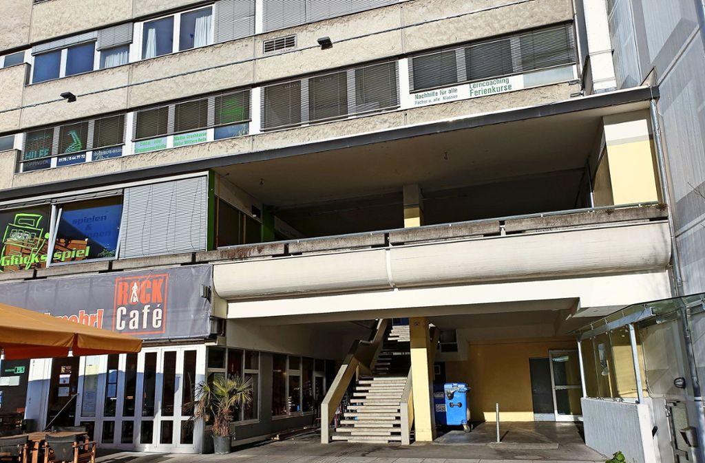 Der Treppenaufgang zur Friedrichstraße ist bisher nicht sehr einladend. Foto: Karen Schnebeck