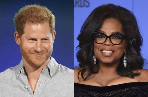 Oprah Winfrey und Prinz Harry starten gemeinsame Doku-Serie