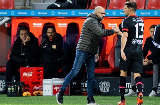 Bayer Leverkusen dank Alario-Doppelpack auf Platz vier