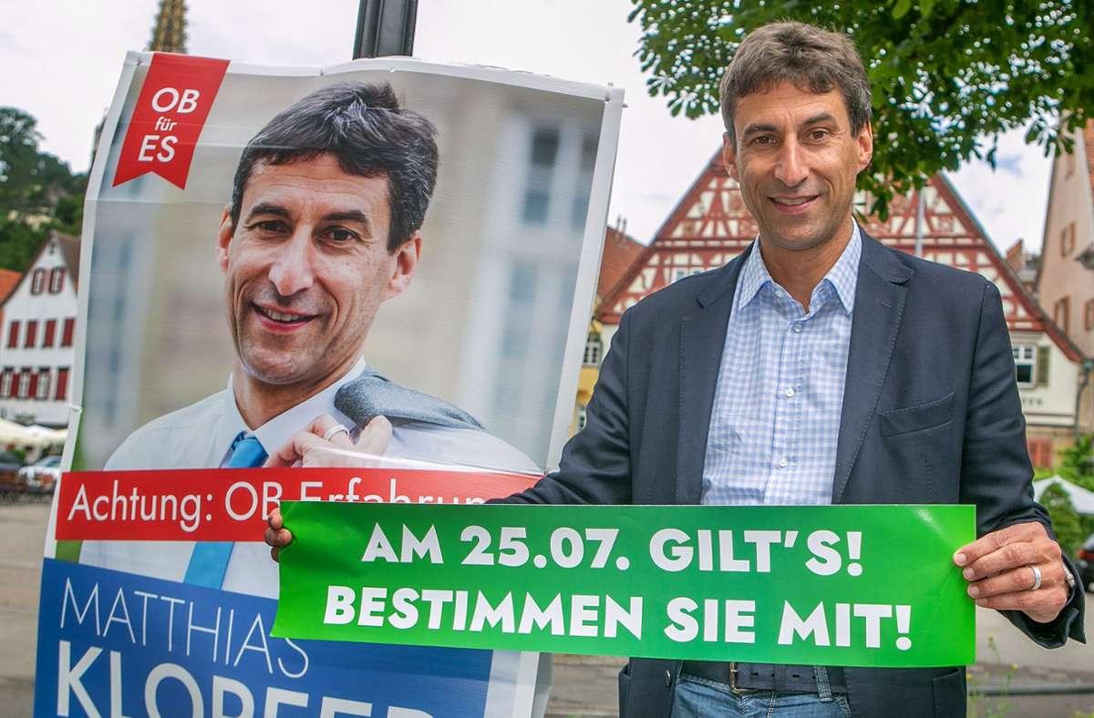 Matthias Klopfer wird der neue Rathauschef in Esslingen. Foto: Roberto Bulgrin