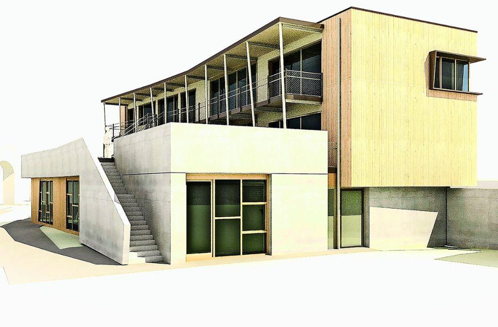 So soll das neue Jugendhaus aussehen. Foto: plus bauplanung GmbH (z)