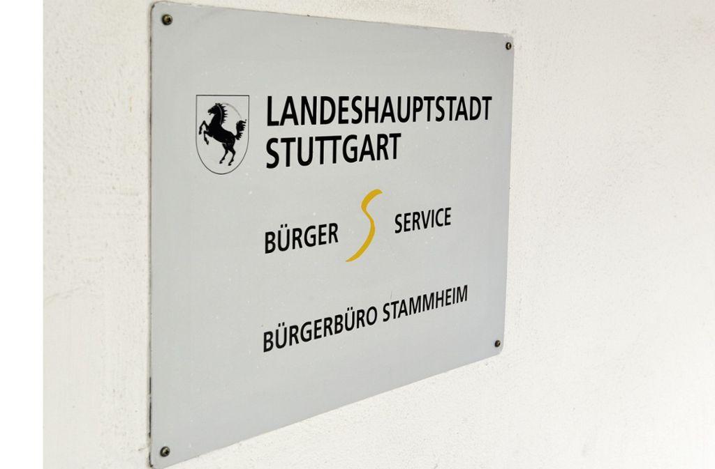 Wegen Personalmangels bleibt das Bürgerbüro in Stammheim geschlossen. Foto: T/om Bloch