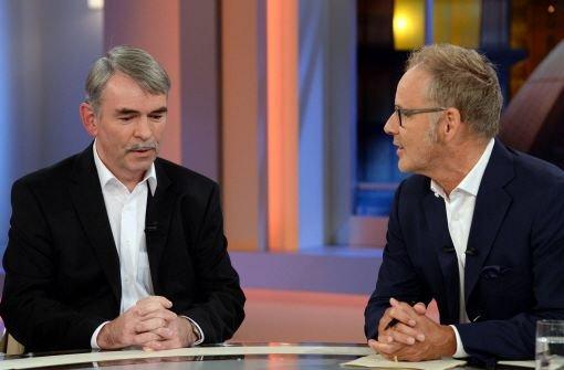 Souveräner TV-Auftritt bei Beckmann