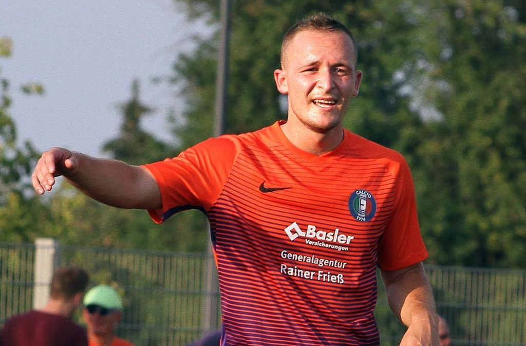 Josip Biljeskovic kehrt ins Echterdinger Aufgebot zurück. Foto: Yavuz Dural