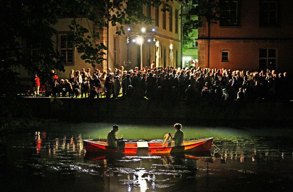 """2007 sorgte Susanne Hinkelbeins  """"Stadtoper""""  für einen wahren Publikumsansturm in der Foto: Horst Rudel/Archiv"""