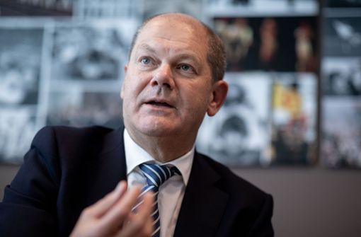 Finanzminister Scholz ermahnt Italien