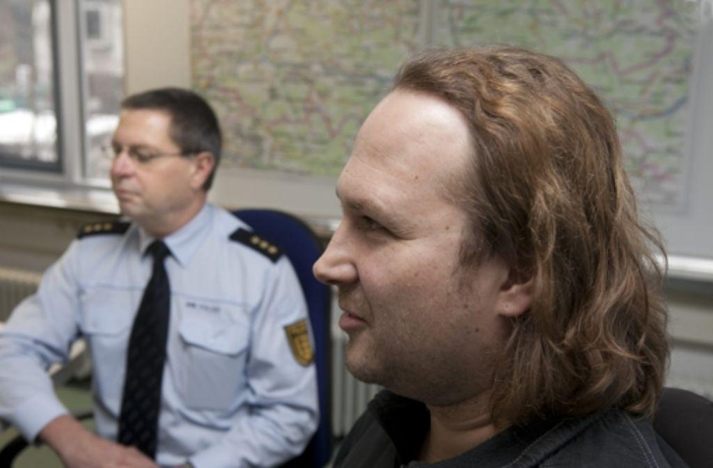 Peter Hönle und Armin Holp sind beim Streitgespräch oft einer Meinung. Foto: Horst Rudel