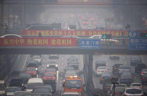 China verbietet 553  Spritfresser