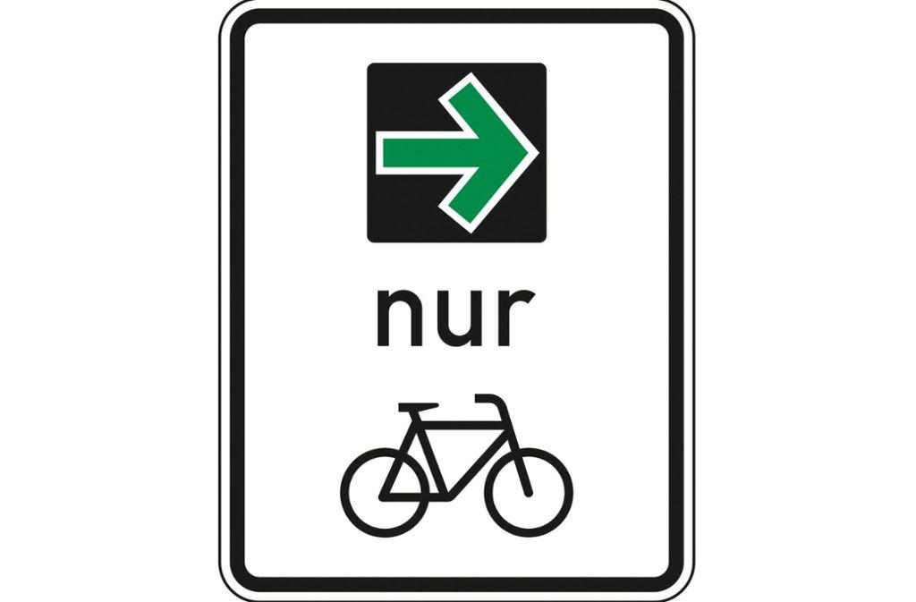 So sieht das neue Schild aus. Foto: Bundesanstalt für Straßenwesen
