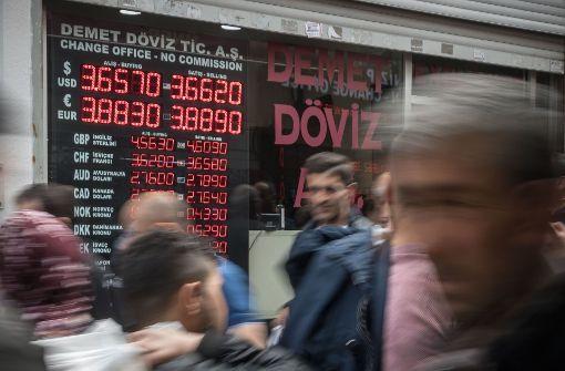 Die türkische Wirtschaft wächst auf Pump
