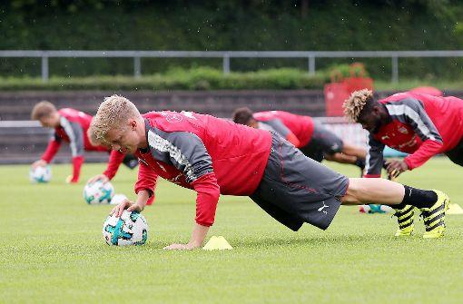 Timo Baumgartl wieder voll im Training