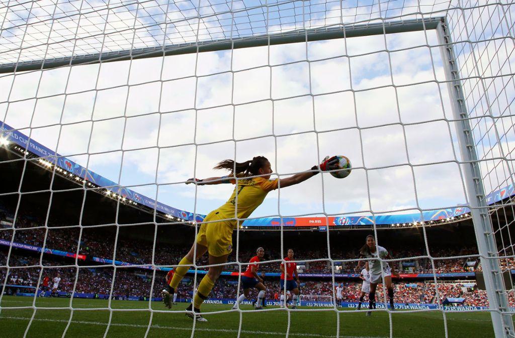 Die Fifa will verhindern, dass die Spiele der Frauen-Fußball-WM in Saudi Arabien ohne Lizenz gezeigt werden. Foto: Getty Images