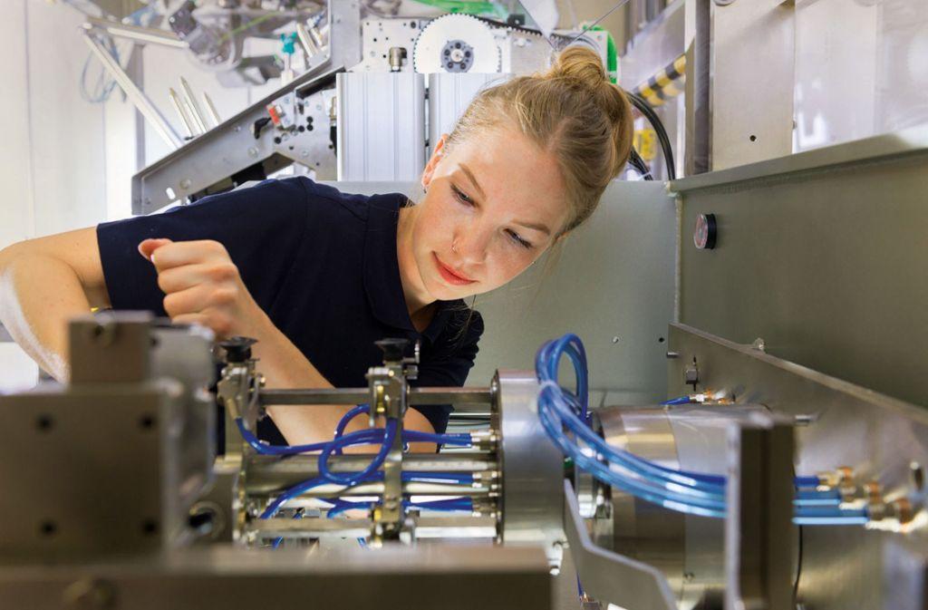 6100  Mitarbeiter der Bosch Verpackungstechnik wechseln den Arbeitgeber. Foto: Bosch