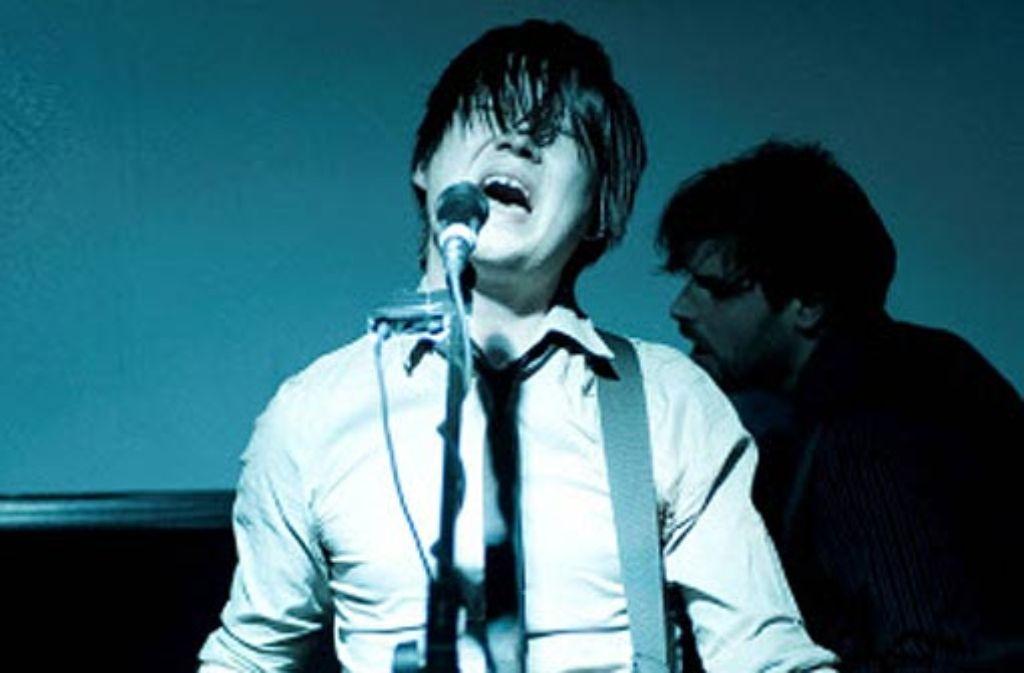 Konstantin Gropper singt ambitioniert von Versagensängsten. Foto: Andreas Reiner