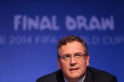 Generalsekretär Valcke will bleiben