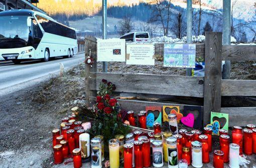 Angehörige kommen zum Unfallort nach Südtirol
