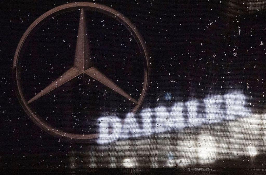 Daimler-Großaktionär Geely kann sich eine tiefere Zusammenarbeit mit dem Stuttgarter Autobauer vorstellen. Foto: dpa/Marijan Murat