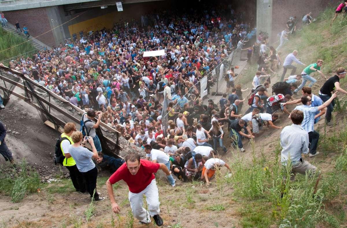 Am 24. Juli 2010 geschah es. Foto: dpa/Erik Wiffers