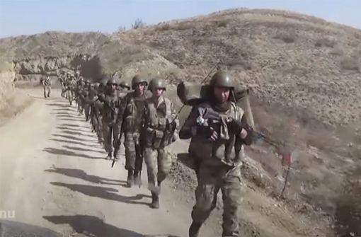 Feuerpause zwischen Armenien und Aserbaidschan in Kraft