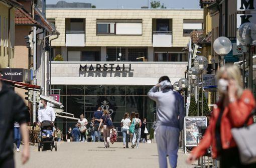 Kaum Ladenschließungen in Ludwigsburg – bis jetzt